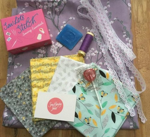 Review of a fabric subscription box