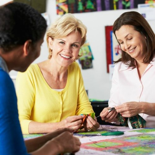 How to find a local sewing group