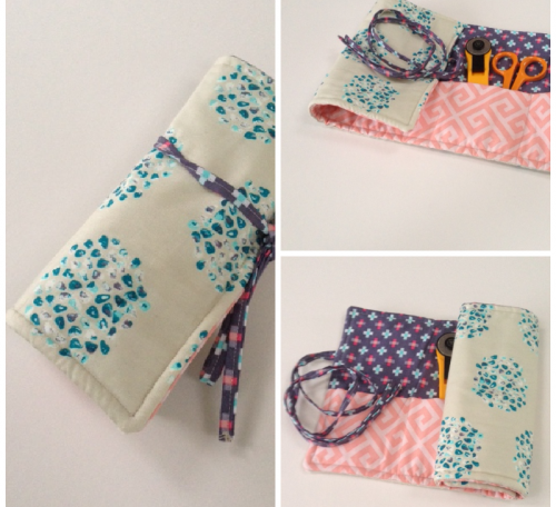 Travel sewing roll