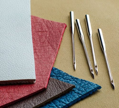 Tips for machine sewing leather