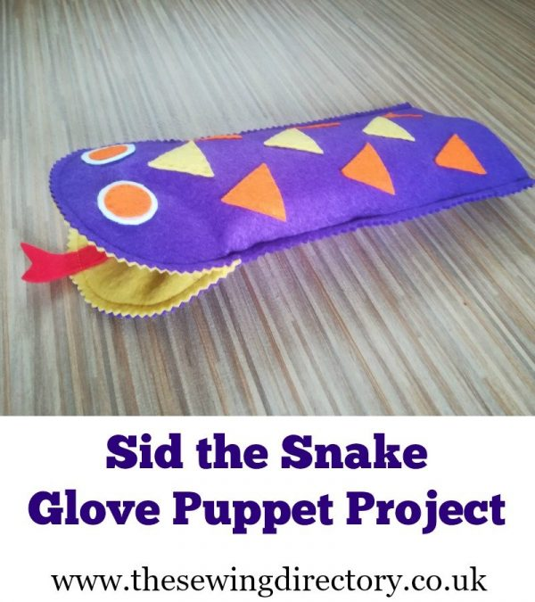 Sid the Snake Glove puppet sharable