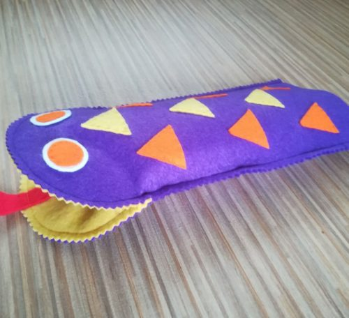 Glove puppet project for children