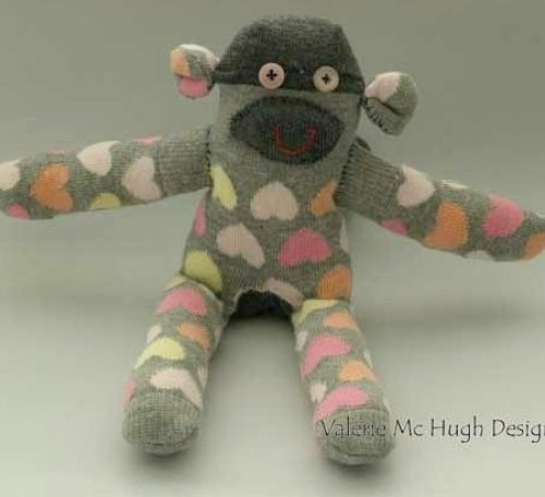 How to sew a sock animal