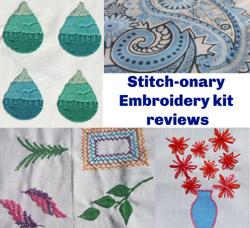 Review of Craft Yourself Silly's Stitch-onary kits