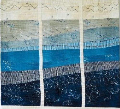 Stormy seas mini quilt pattern free