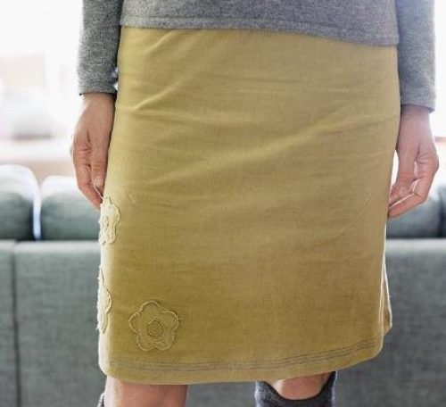 Free knee length skirt pattern