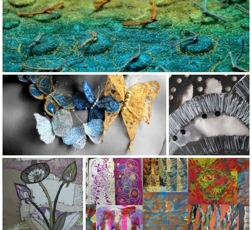 Textile art classes in the UK