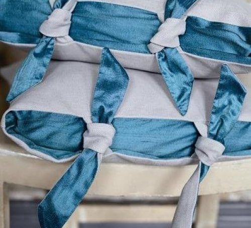 Tie sided cushion project