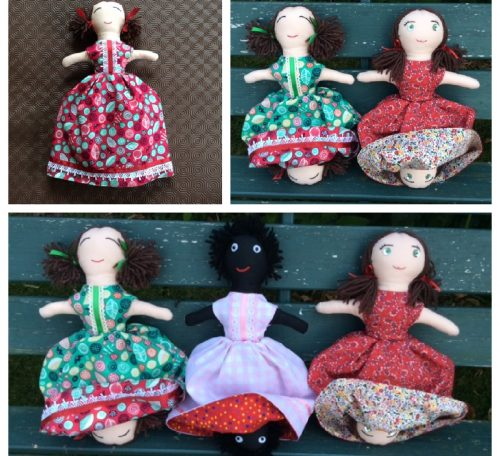 How to sew a topsy turvy doll