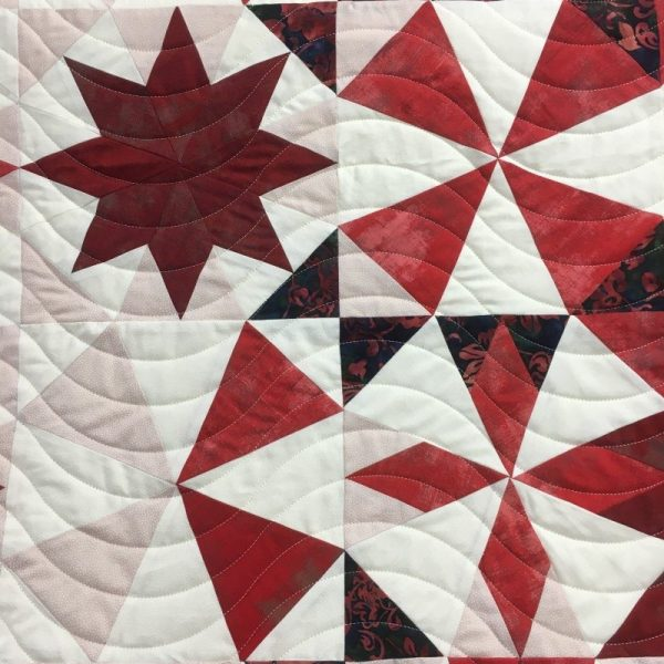 What are the different types of longarm quilting