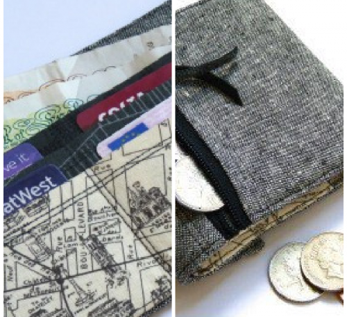 Sew a wallet project