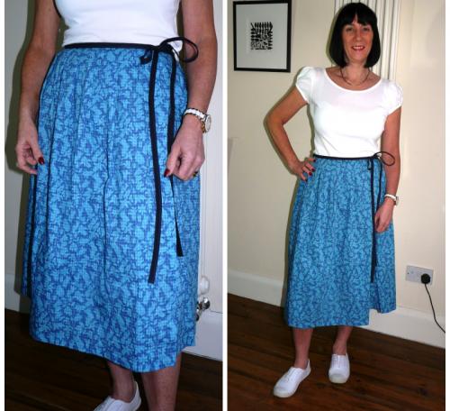 Sew a wrap skirt