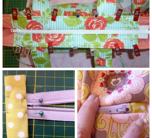 Learn how to sew zip closures when making bags