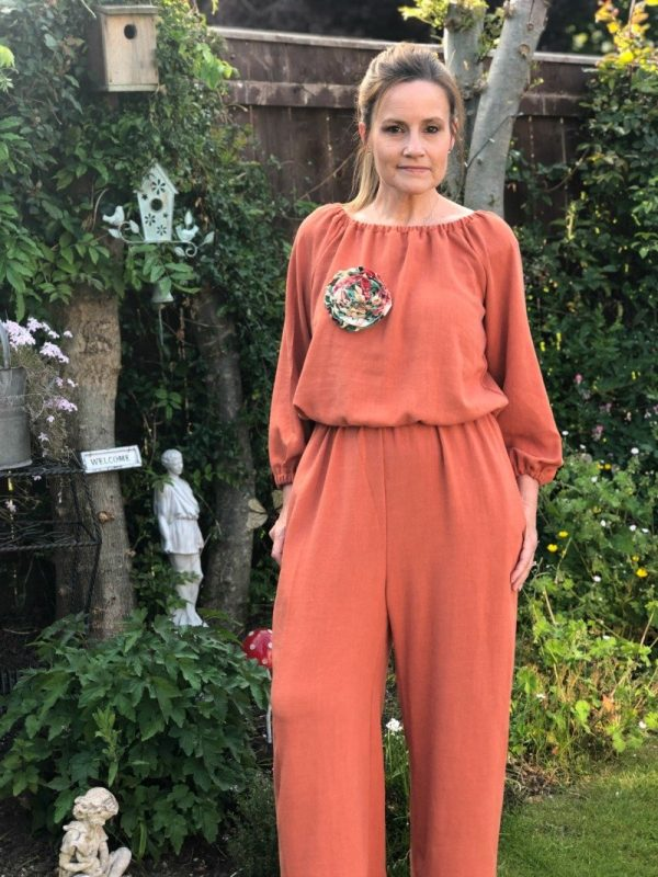 How to make the Avenir Jumpsuit pattern