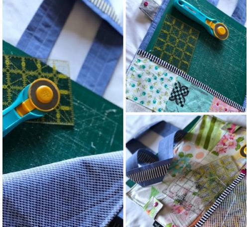 Cutting Mat Bag project