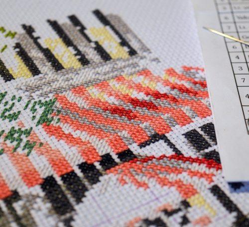 How to do cross stitch