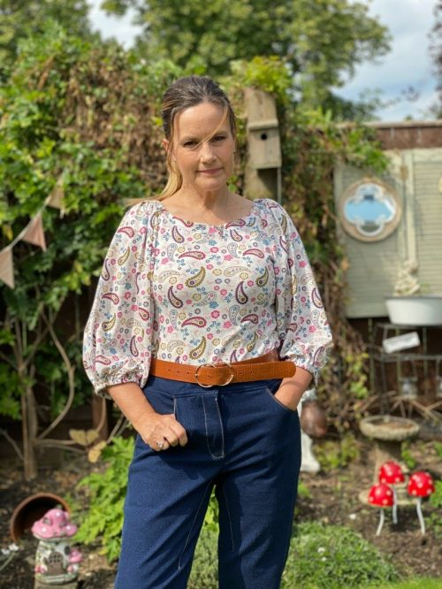 Comfy jeans sewing pattern