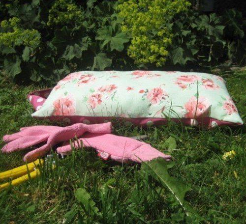Garden kneeler sewing tutorial