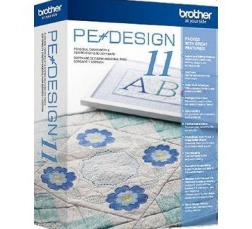 PE Design software for a Brother sewing machine