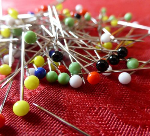 A guide to sewing pins