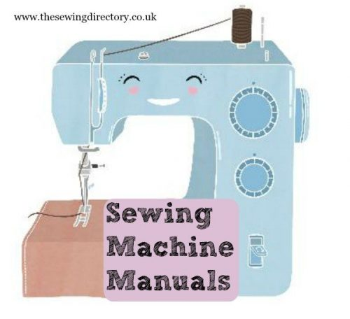 Find pare manuals for sewing machines