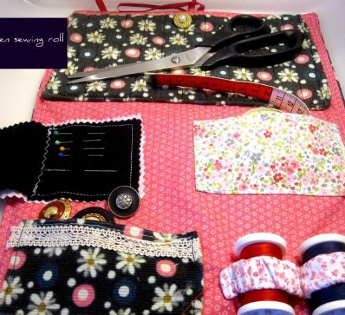 How to make a sewing roll