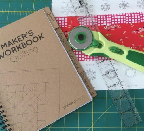 Review of Patterntrace quilting notebook